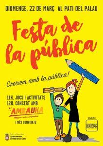 ASSEMBLEA GROGA MOLINS. Festa de la Pública 2020 (anulada pel Covid-19)